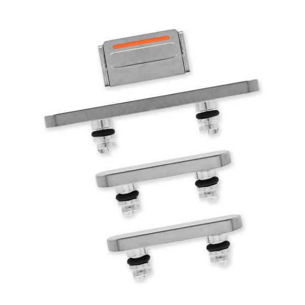 iPhone 12 Pro Case Button Set / Silver