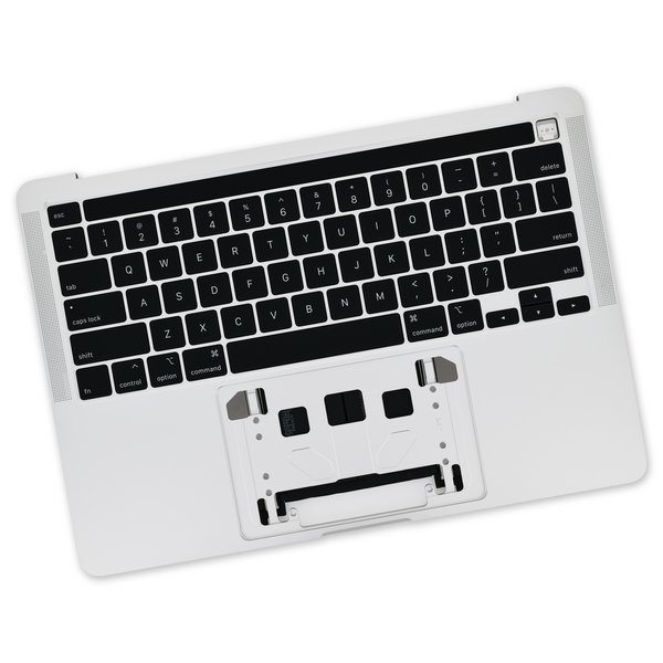 "MacBook Pro 13"" (A2251, 2020) Upper Case Assembly / A-Stock / Silver"