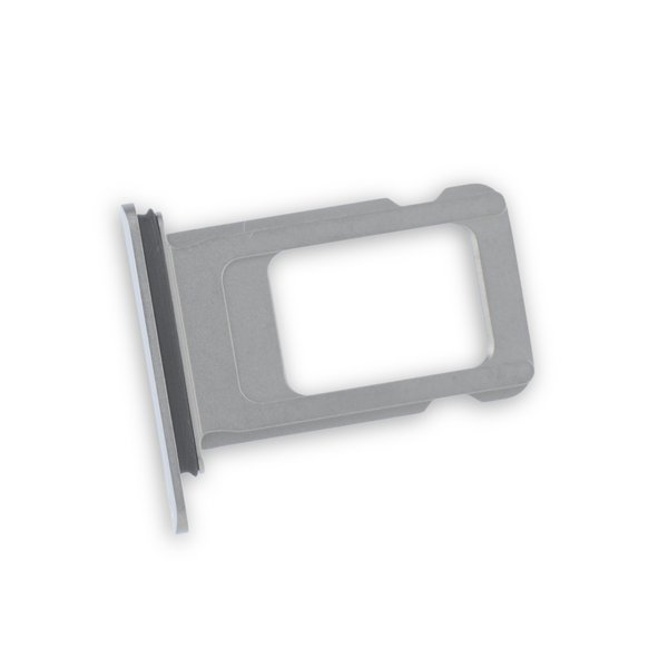 iPhone XS Max Single SIM Card Tray / New / Silver