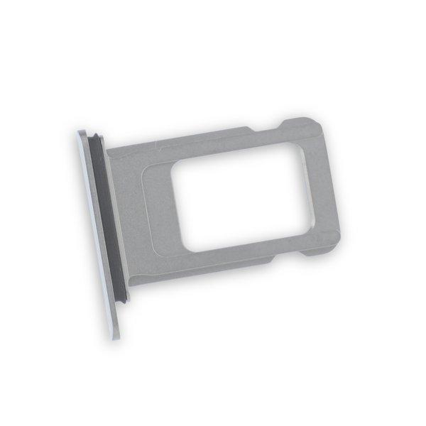 iPhone XS Max Single SIM Card Tray / New / Silver