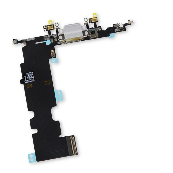 iPhone 8 Plus Lightning Connector Assembly / Gray / Part Only