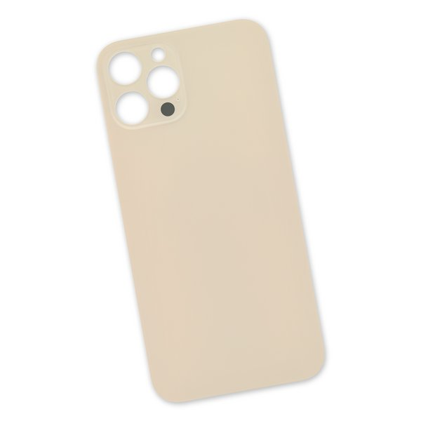 iPhone 12 Pro Max Aftermarket Blank Rear Glass Panel / Gold