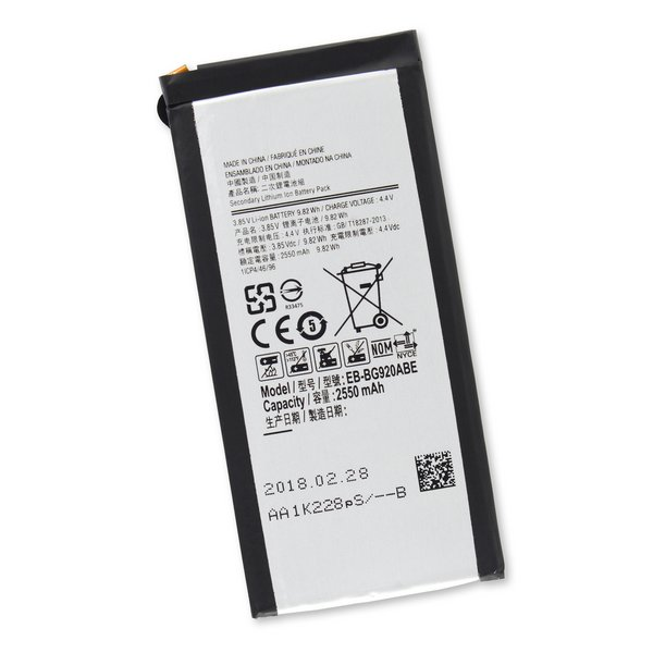Galaxy S6 Battery / New / Part Only