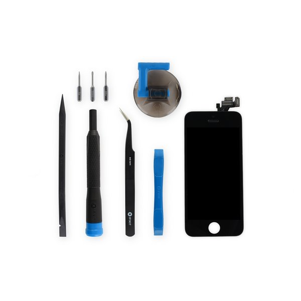 iPhone 5 Screen / New / Fix Kit / Black