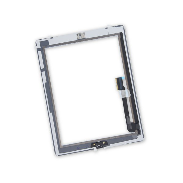 iPad 3 Screen Digitizer Assembly / New / Part Only / White