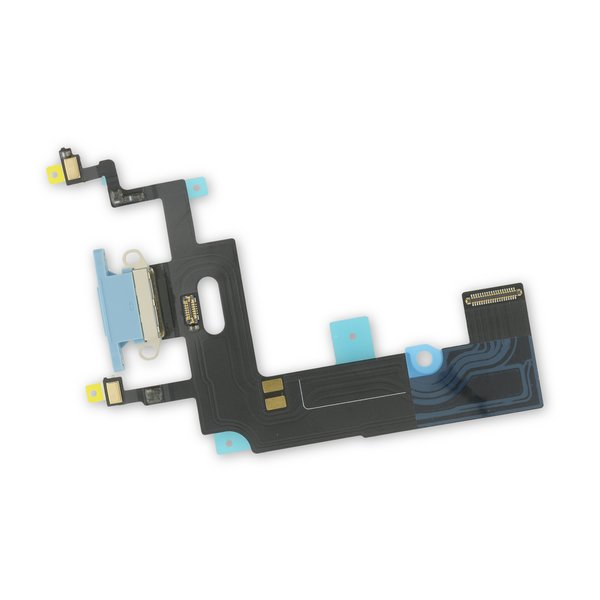iPhone XR Lightning Connector Assembly / Blue