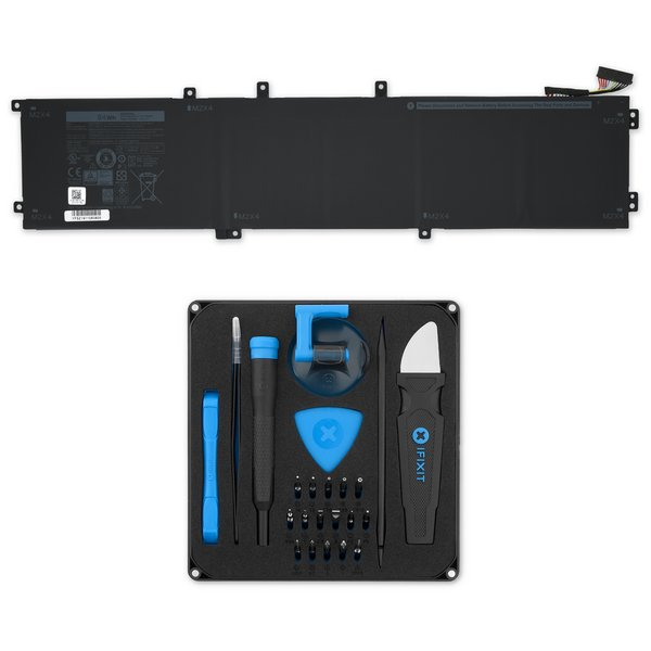 Dell XPS 15 9550 and 5510 Precision 84 Wh Battery / Fix Kit