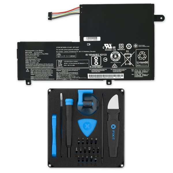 Lenovo Flex 4-1470, Flex 4-1570, Ideapad 320S, 330S-14, 330S-15, and Yoga 510 Battery / Fix Kit