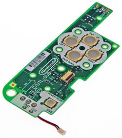 Nintendo DSi XL Power Board