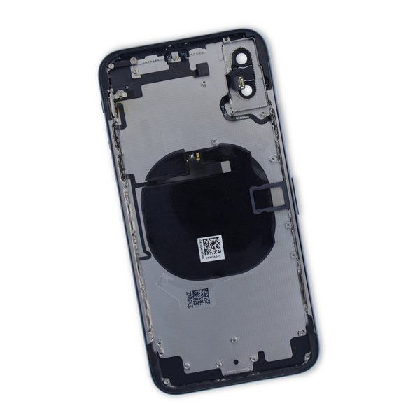 iPhone X Aftermarket Blank Rear Case / with Cables / New / Black