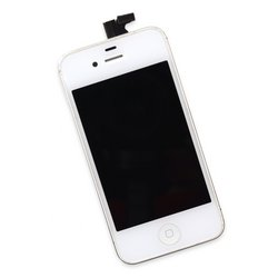 iPhone 4 CDMA Screen Assembly / White / A-Stock