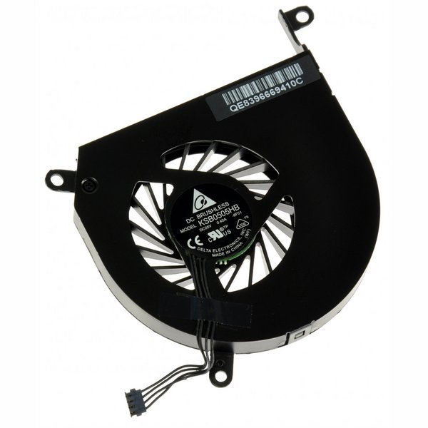 "MacBook Pro 15"" (Late 2008-Mid 2012 excluding Mid 2009 2.53 GHz) Left Fan"