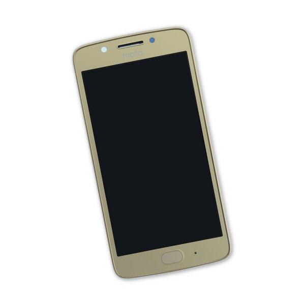Moto G5 Screen / Gold / Part Only