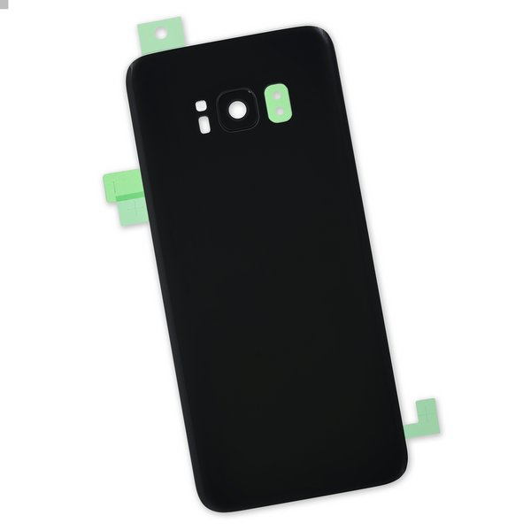Galaxy S8 Rear Glass Panel/Cover / Part Only / Black