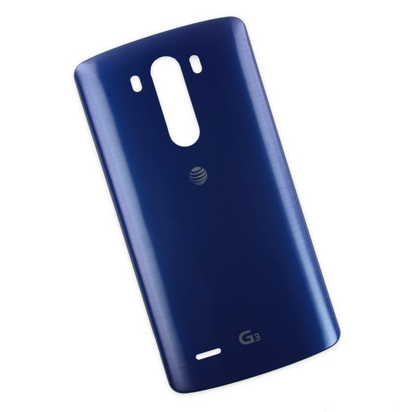 LG G3 Rear Panel (AT&T) / Blue / A-Stock