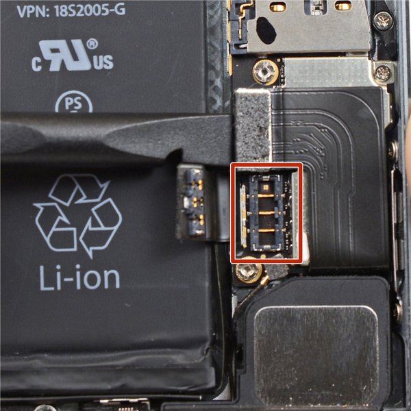 iPhone 5s Battery Connector