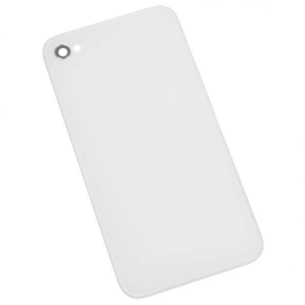 iPhone 4 (GSM/AT&T) Blank Rear Glass Panel / Part Only / White