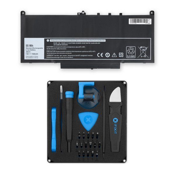 Dell Latitude 14 E7470 Ultrabook Laptop Battery / Fix Kit
