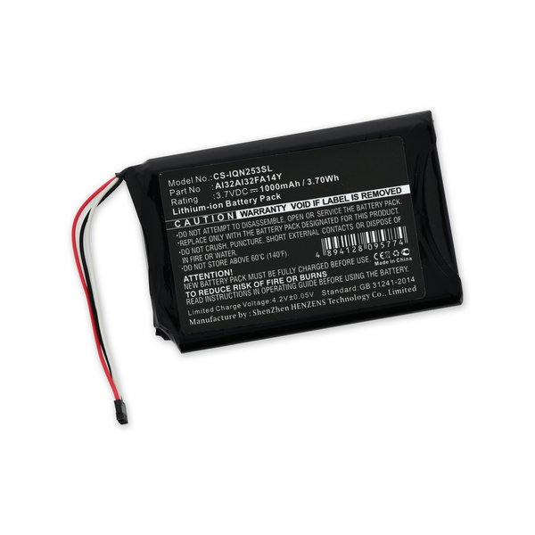 Garmin Nuvi 2539/2559/2589/2597/2599 Battery