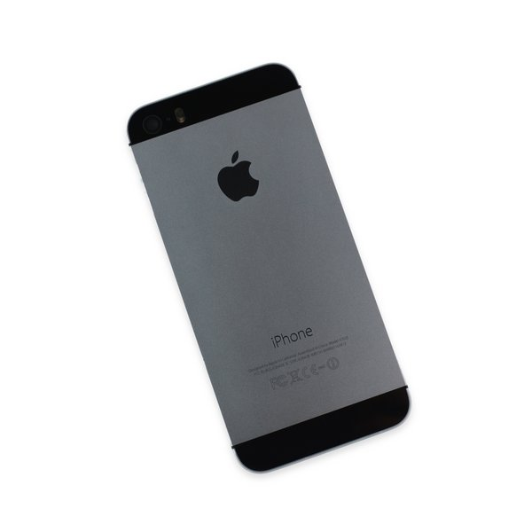 iPhone 5s OEM Rear Case w/Cable / Black / A-Stock