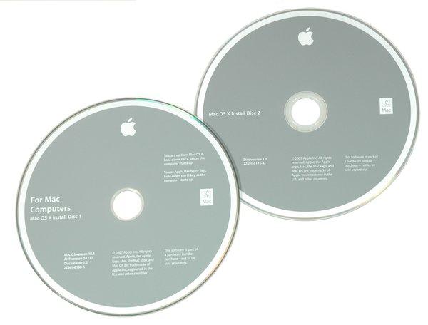 "MacBook Pro 15"" (Model A1226) Leopard Restore DVDs"