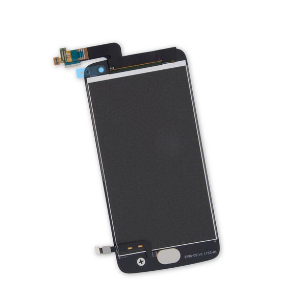 Moto G5 Plus Screen / Gold / Part Only