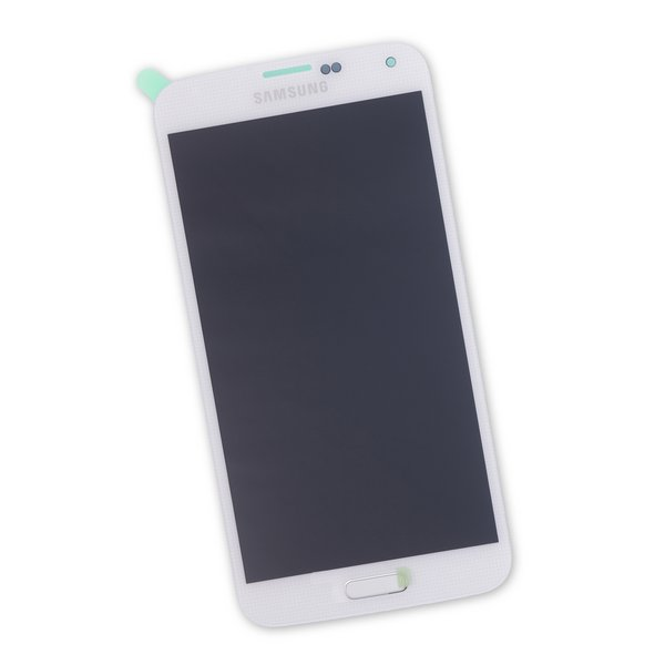 Galaxy S5 Screen / White / New / Part Only