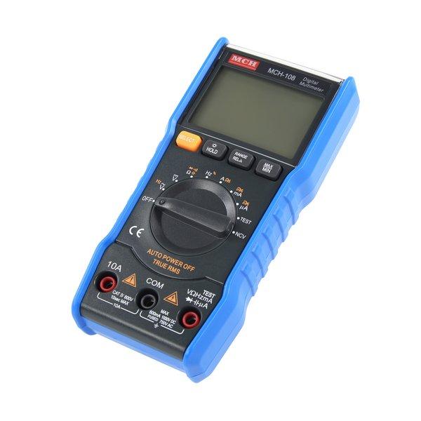 Digital Multimeter / Blue MCH 108