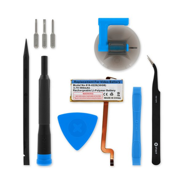 iPod Video 30 GB Battery / Fix Kit