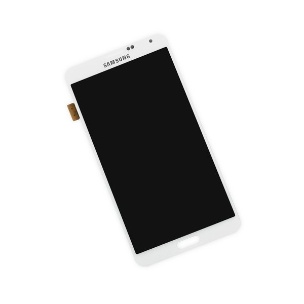 Galaxy Note 3 AMOLED and Digitizer / White / Part Only