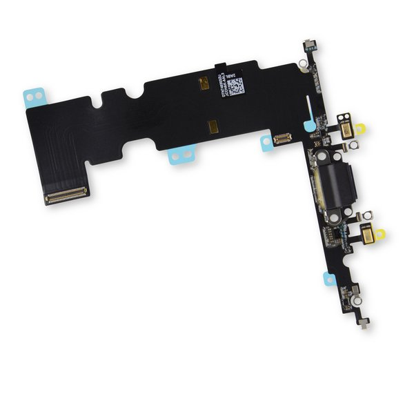 iPhone 8 Plus Lightning Connector Assembly / Black / Part Only