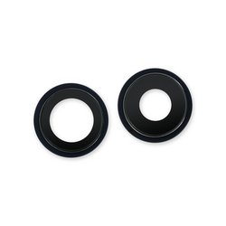 iPhone 12 mini Rear Camera Lenses and Bezels / Black