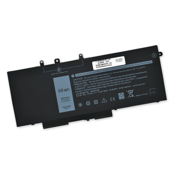 Dell Latitude 5280, 5288, 5480, 5290 DNDM6, 5590, and Precision 15 3520 Battery / Part Only
