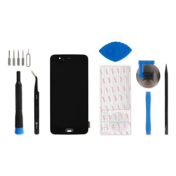 OnePlus 5 Screen / Fix Kit / Black