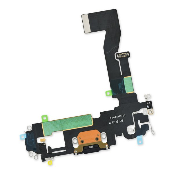 iPhone 12/12 Pro Lightning Connector Assembly / Dark Blue