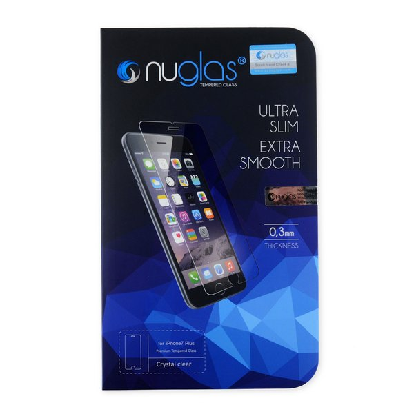 NuGlas Tempered Glass Screen Protector for iPhone 7 Plus/8 Plus