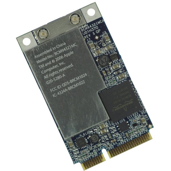 MacBook 802.11n Airport Extreme Card