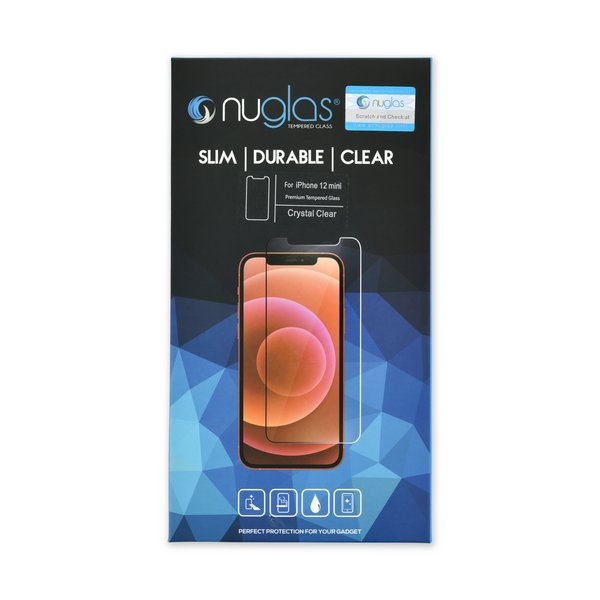 NuGlas Tempered Glass Screen Protector for iPhone 12 mini