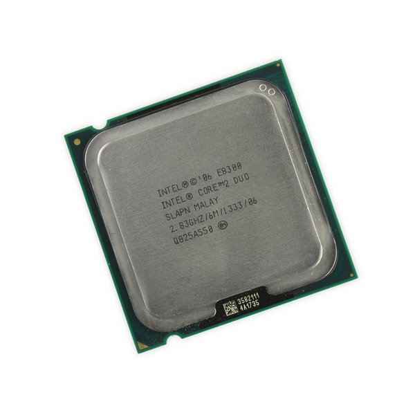 Intel Core 2 Duo E8300 CPU