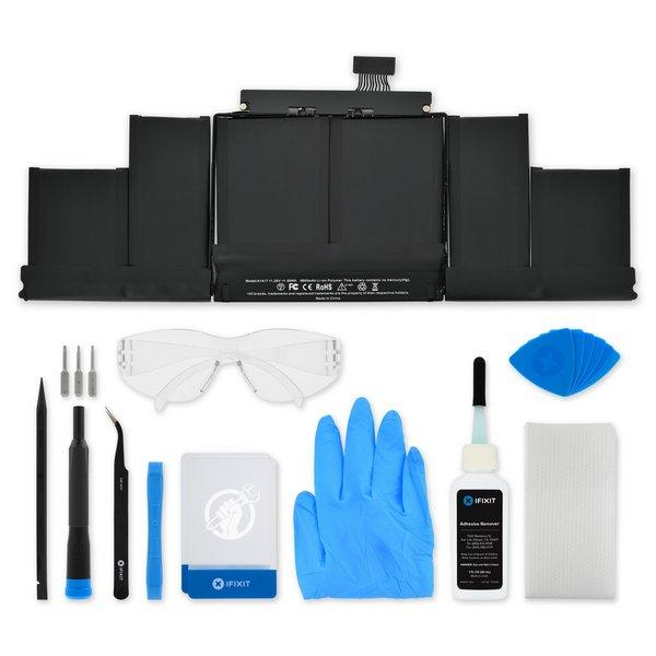 "MacBook Pro 15"" Retina (Mid 2012-Early 2013) Battery / New / Fix Kit"