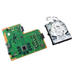 PlayStation 4 SAA-001 Motherboard & Paired Optical Drive