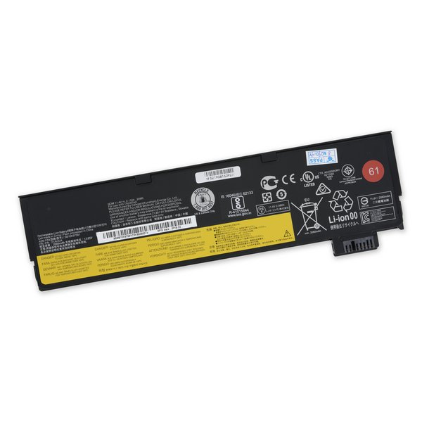 Lenovo ThinkPad P51s, P52S, T470, T480, T570, T580, and TP25 Battery / Part Only