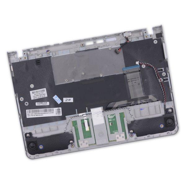 Samsung Chromebook XE303C12 Palmrest Keyboard Touchpad Assembly