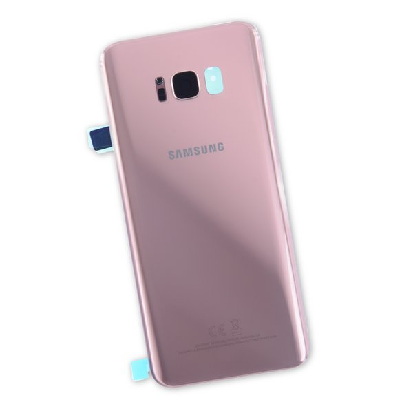 Galaxy S8+ Rear Glass Panel/Cover - Original / Rose Gold / Part Only