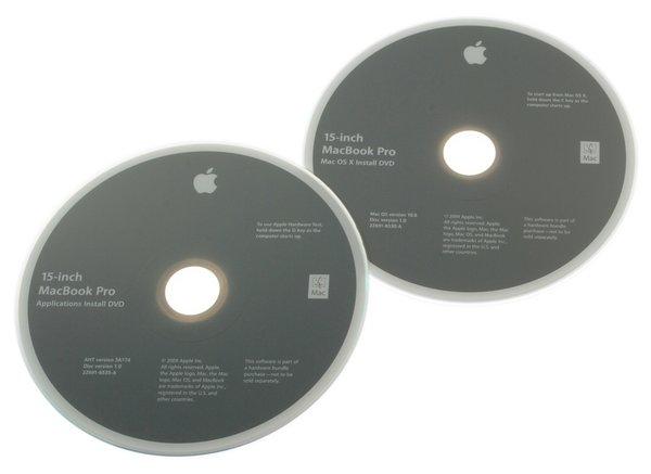 """MacBook Pro 15"""" Unibody (2.53 GHz Mid 2009) Restore DVDs"""