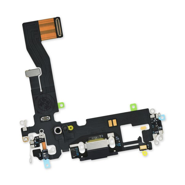 iPhone 12/12 Pro Lightning Connector Assembly / Black