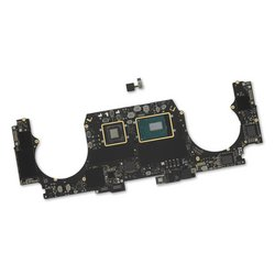 "MacBook Pro 15"" Retina (Mid 2018) 2.2 GHz Logic Board, Radeon Pro 555X, with Paired Touch ID Sensor / 16 GB / 256 GB SSD"